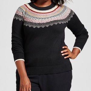 A New Day Fair Isle Sweater